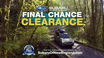 Subaru Final Chance Clearance TV Spot, 'Don't Miss: Full Lineup' [T2] - Thumbnail 6