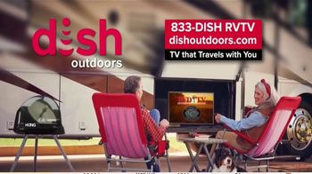 Dish Outdoors TV Spot, 'For Your Next Road Trip: Tailgater Pro'' - Thumbnail 10