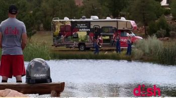 Dish Outdoors TV Spot, 'For Your Next Road Trip: Tailgater Pro'' - Thumbnail 2