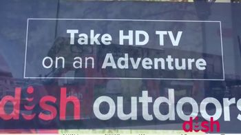 Dish Outdoors TV Spot, 'For Your Next Road Trip: Tailgater Pro'' - Thumbnail 4