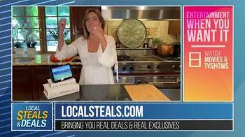 Local Steals & Deals TV Spot, 'Entertainment When You Want It' Featuring Lisa Robertson - Thumbnail 5