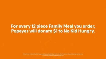 Popeyes Family Meal TV Spot, 'No Kid Hungry: Everyone Is Family' - Thumbnail 5