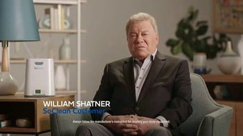 SoClean 2 TV Spot, 'Keep Your Equipment Clean' Featuring William Shatner