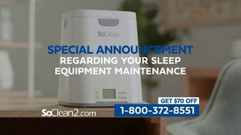 SoClean 2 TV Spot, 'Keep Your Equipment Clean' Featuring William Shatner - Thumbnail 1
