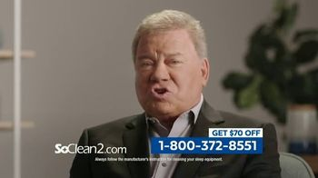 SoClean 2 TV Spot, 'Keep Your Equipment Clean' Featuring William Shatner - Thumbnail 6