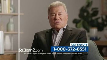 SoClean 2 TV Spot, 'Keep Your Equipment Clean' Featuring William Shatner - Thumbnail 8