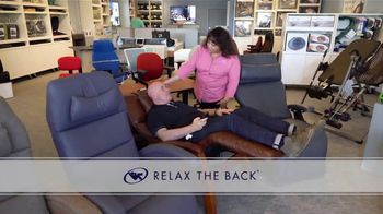 Relax the Back TV Spot, 'Save on Tempur-Pedic, Office Chair Bundles and Zero Gravity Recliners' - Thumbnail 1