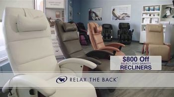 Relax the Back TV Spot, 'Save on Tempur-Pedic, Office Chair Bundles and Zero Gravity Recliners' - Thumbnail 4