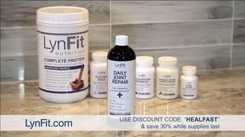 LynFit Daily Joint Repair TV Spot, 'Say Goodbye to Aches and Pains' - Thumbnail 7