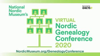 National Nordic Museum TV Spot, '2020 Virtual Nordic Genealogy Conference' - Thumbnail 8