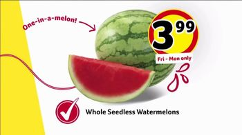 Winn-Dixie Weekend Sale TV Spot, 'Pork and Watermelon' - Thumbnail 6