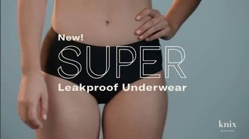 Knix Super Leakproof Underwear TV Spot, 'Breaking Up With Disposables' - Thumbnail 1