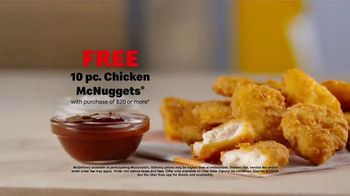 McDonald's McDelivery TV Spot, 'Your Favorites: McNuggets' - Thumbnail 9
