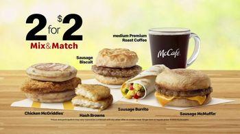 McDonald's 2 for $2 Mix & Match TV Spot, 'Breakfast or a Work Call' - Thumbnail 5