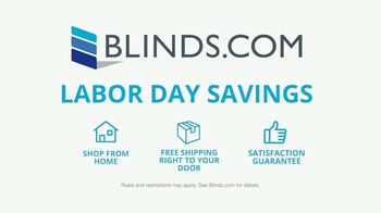 Blinds.com Labor Day Savings TV Spot, '40% Off Everything' - Thumbnail 6