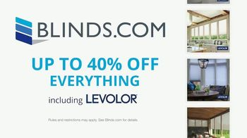 Blinds.com Labor Day Savings TV Spot, '40% Off Everything' - Thumbnail 7