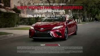 2020 Toyota Camry TV Spot, 'A Car Can Do More' [T2] - Thumbnail 10