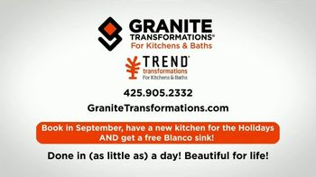 Granite Transformations TV Spot, 'Beauty That Lasts' - Thumbnail 8