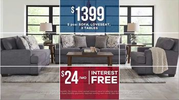 Rooms to Go Labor Day Sale TV Spot, 'Shop Now: Living Room, Sectional, Bedrooms & Dining Sets' - Thumbnail 4