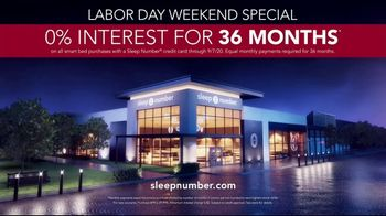Sleep Number Biggest Sale of the Year TV Spot, 'Labor Day Weekend: Snoring: Save 50%' - Thumbnail 9