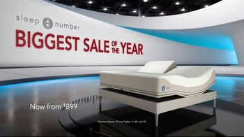 Sleep Number Biggest Sale of the Year TV Spot, 'Labor Day Weekend: Snoring: Save 50%' - Thumbnail 1
