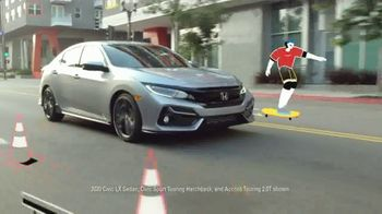 Honda Summer Clearance Event TV Spot, 'Your New Honda Is Waiting: Civic & Accord' Song by Danger Twins [T2] - Thumbnail 3