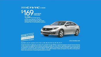 Honda Summer Clearance Event TV Spot, 'Your New Honda Is Waiting: Civic & Accord' Song by Danger Twins [T2] - Thumbnail 5