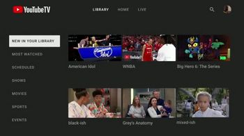YouTube TV TV Spot, 'TV Made Yours' - Thumbnail 9