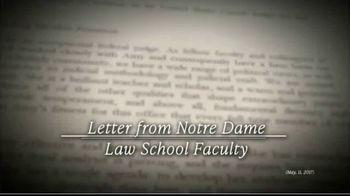 America First Policies TV Spot, 'Confirm Judge Amy Coney Barrett' - Thumbnail 1