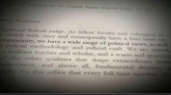 America First Policies TV Spot, 'Confirm Judge Amy Coney Barrett' - Thumbnail 2