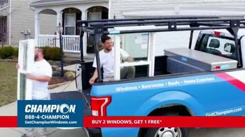 Champion Windows Fall Sale TV Spot, 'Eliminate the Middleman: Buy Two Windows, Get One Free' - Thumbnail 5
