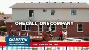 Champion Windows Fall Sale TV Spot, 'Eliminate the Middleman: Buy Two Windows, Get One Free' - Thumbnail 7
