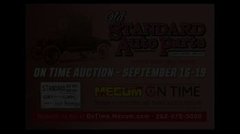 Mecum On Time TV Spot, '2020: Old Standard Auto Parts' - Thumbnail 1
