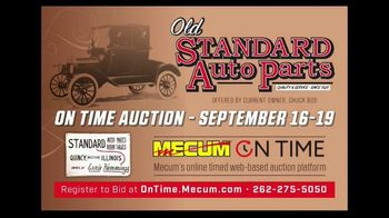 Mecum On Time TV Spot, '2020: Old Standard Auto Parts' - Thumbnail 2