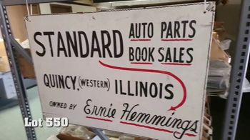 Mecum On Time TV Spot, '2020: Old Standard Auto Parts' - Thumbnail 5