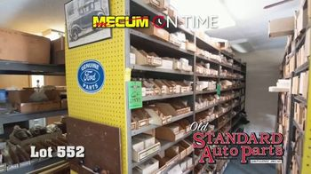 Mecum On Time TV Spot, '2020: Old Standard Auto Parts' - Thumbnail 7