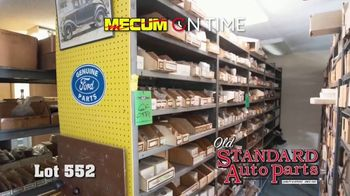 Mecum On Time TV Spot, '2020: Old Standard Auto Parts' - Thumbnail 8