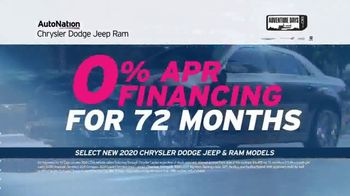 AutoNation Jeep Adventure Days TV Spot, 'Something You Can Count On: 0% Financing'