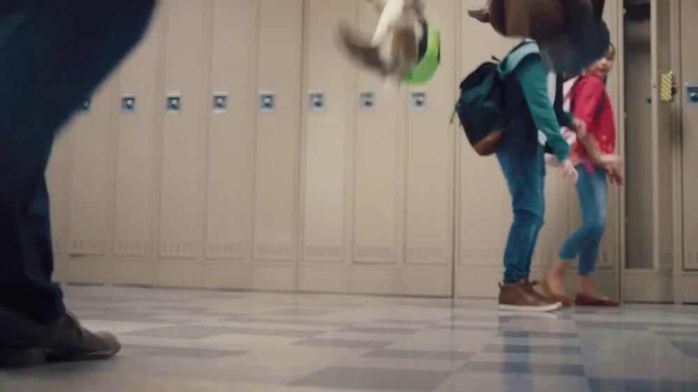 lunchables juice tv commercial mixed school hallway ispottv