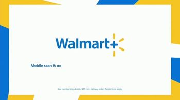 Walmart+ TV Spot, 'Get Back to Living: Free Unlimited Delivery' - Thumbnail 10