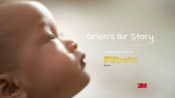 Filtrete Air Purifier TV Spot, 'Orion's Air Story'