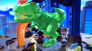 Hot Wheels City Ultimate Garage TV Spot, 'Hungry T-Rex' - Thumbnail 9