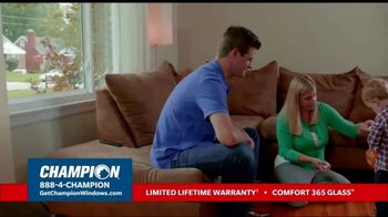 Champion Windows Fall Sale TV Spot, 'Your Safe Place: Buy Two, Get One Free' - Thumbnail 2