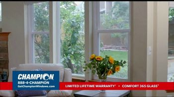 Champion Windows Fall Sale TV Spot, 'Your Safe Place: Buy Two, Get One Free' - Thumbnail 5