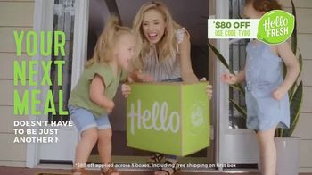 HelloFresh TV Spot, 'Here in This Moment'