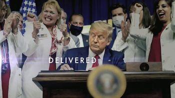 Donald J. Trump for President TV Spot, 'Delivered' - Thumbnail 1