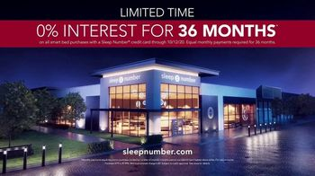 Sleep Number Fall Sale TV Spot, 'Temperature Balance: Save up to $700: 0% Interest for 36 Months' - Thumbnail 9