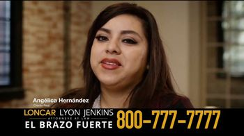 Loncar & Associates TV Spot, 'Angélica Hernández' [Spanish]
