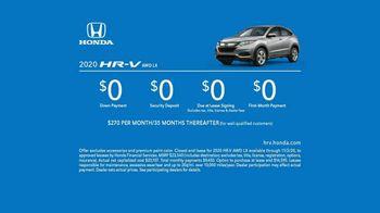 2020 Honda HR-V TV Spot, 'Why Not HR-V' [T2] - Thumbnail 8