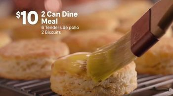 Popeyes 2 Can Dine Meal TV Spot, 'Solo $10 dólares' [Spanish] - Thumbnail 4